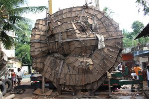 23 foot Nataraja in mold