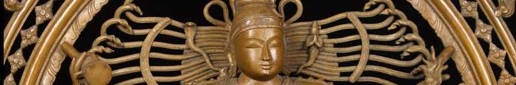 Bronze Shiva Nataraja statue