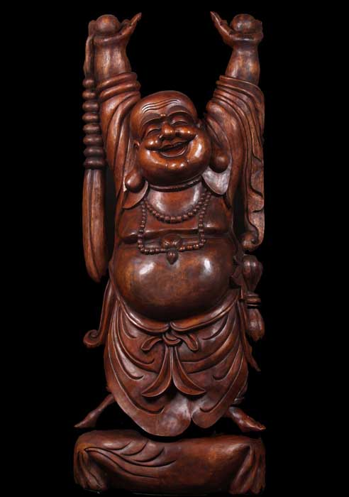 Fat and Happy Buddha of Wealth