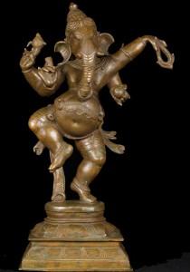 Bronze Dancing Ganesh Statue