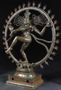 Hindu God Shiva Nataraja statue