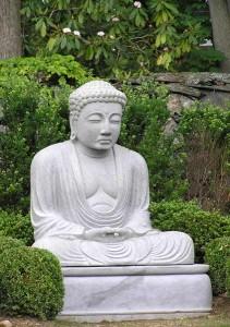 Large Meditating Japanese Garden Buddha Statue