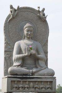 Stone Gupta Buddha Statue