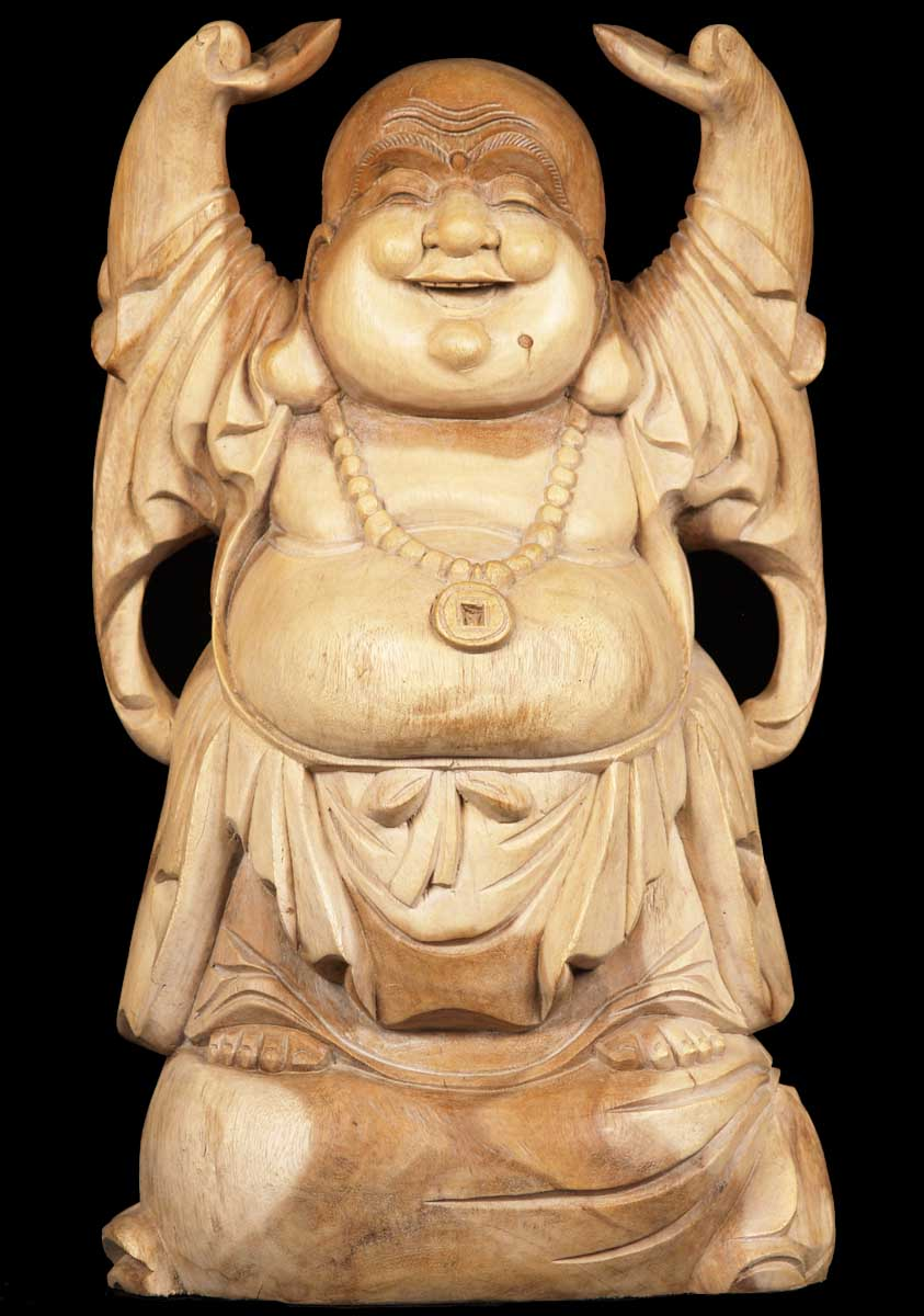 Fat & Happy Buddha Statue by Lotus Sculpture