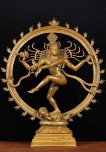 Hindu God Shiva as Lord of Dance Nataraja