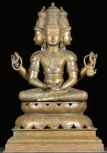 Hindu God Lord Brahma symboliism