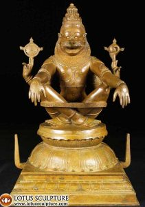 Yoga Narasimha, avatar of hindu god vishnu