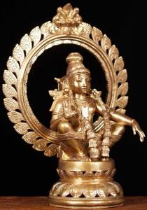Son of Shiva and Vishnu; Lord Ayyappa