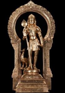 Bronze Murugan statue