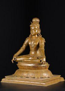 Shiva in deep meditation