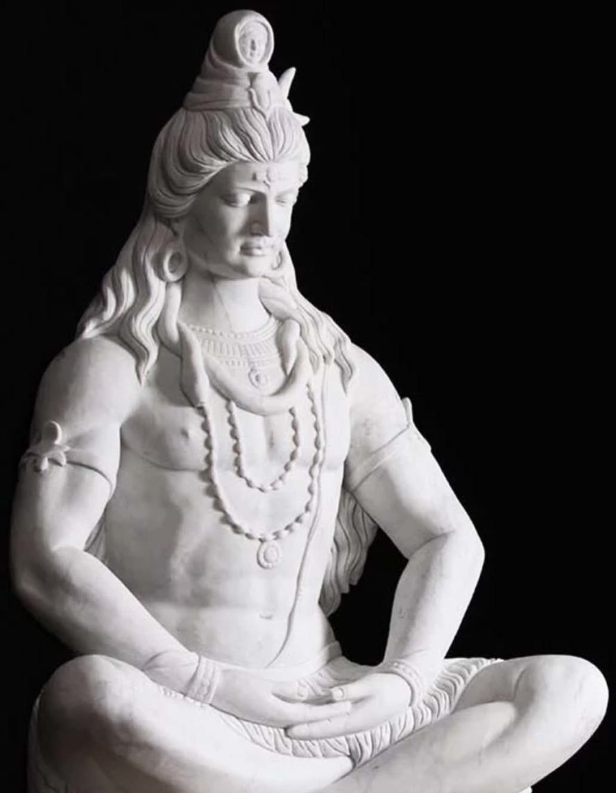 Shiva statues for chants to lord Shiva