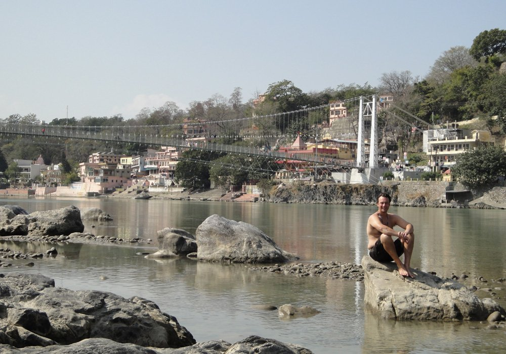 Swimming in the Ganges