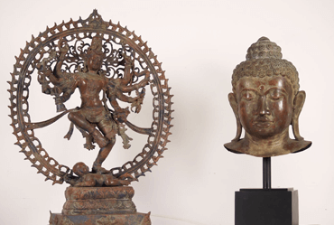 Bali Brass statues for sale