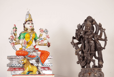 Shop for Colored Marble Hindu and Buddha statues