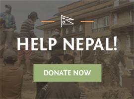 Help Nepal! Donate Now.