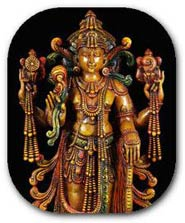 Hindu God Vishnu the preserver