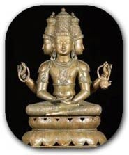 Hindu God Brahma the creator