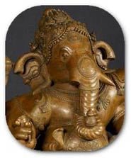 The Hindu God Ganesh the remover of obstacles