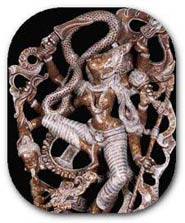 The Hindu Goddess Kali