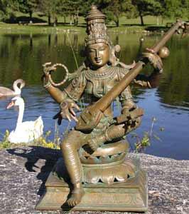 Saraswati with Swan