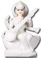 Hindu Goddess Saraswati Statues for sale