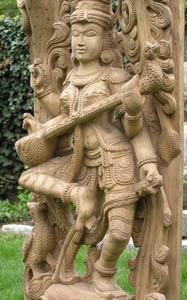 Dancing Saraswati Statue