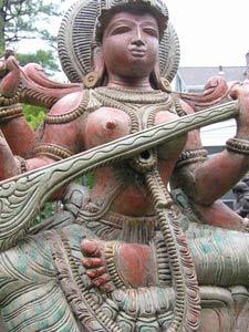 Hindu Goddess Saraswati