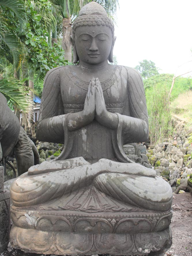 Large Garden Buddha Sculpture 95 56ls56 Hindu Gods Buddha