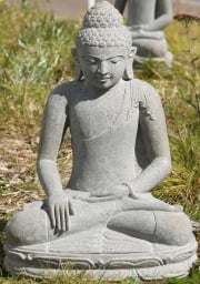 Stone Earth Witness Buddha Statue 21