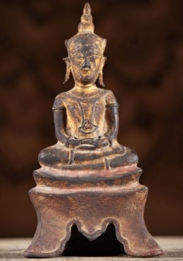 Antique Ayutthaya Period Buddha Statue 8