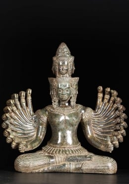 Seated Avalokiteshvara with 22 Arms 21