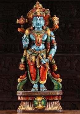 Sold Black Marble Gopal Krishna Statue 34 Quot 65bm6 Hindu