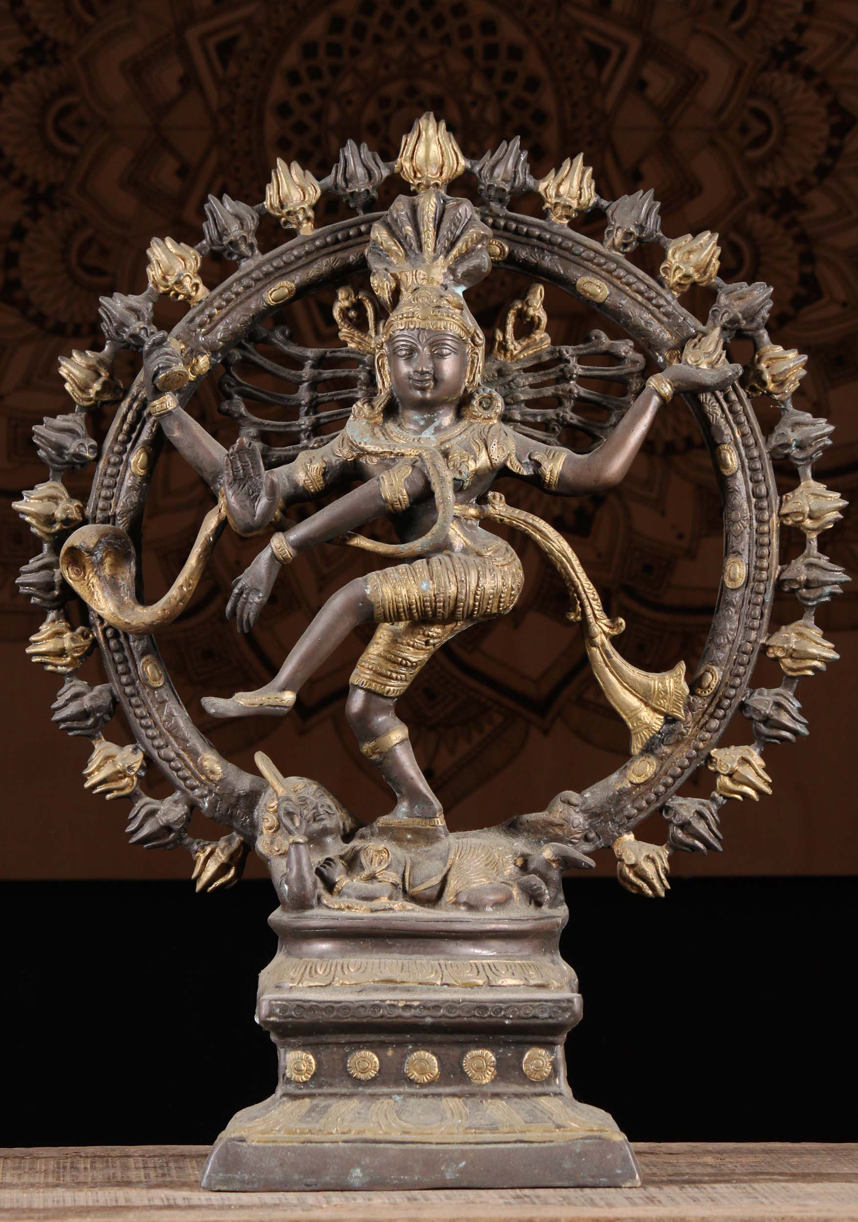 Sold Brass Nataraja Dancing Shiva Sculpture 25 Quot 1r10
