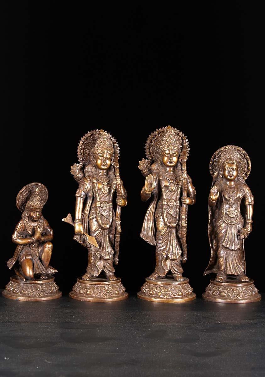 Ram, Lakshman, Sita Hanuman Set 16