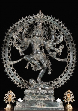 Down Payment for Brass Shiva Nataraja Statue with 8 Arms 26
