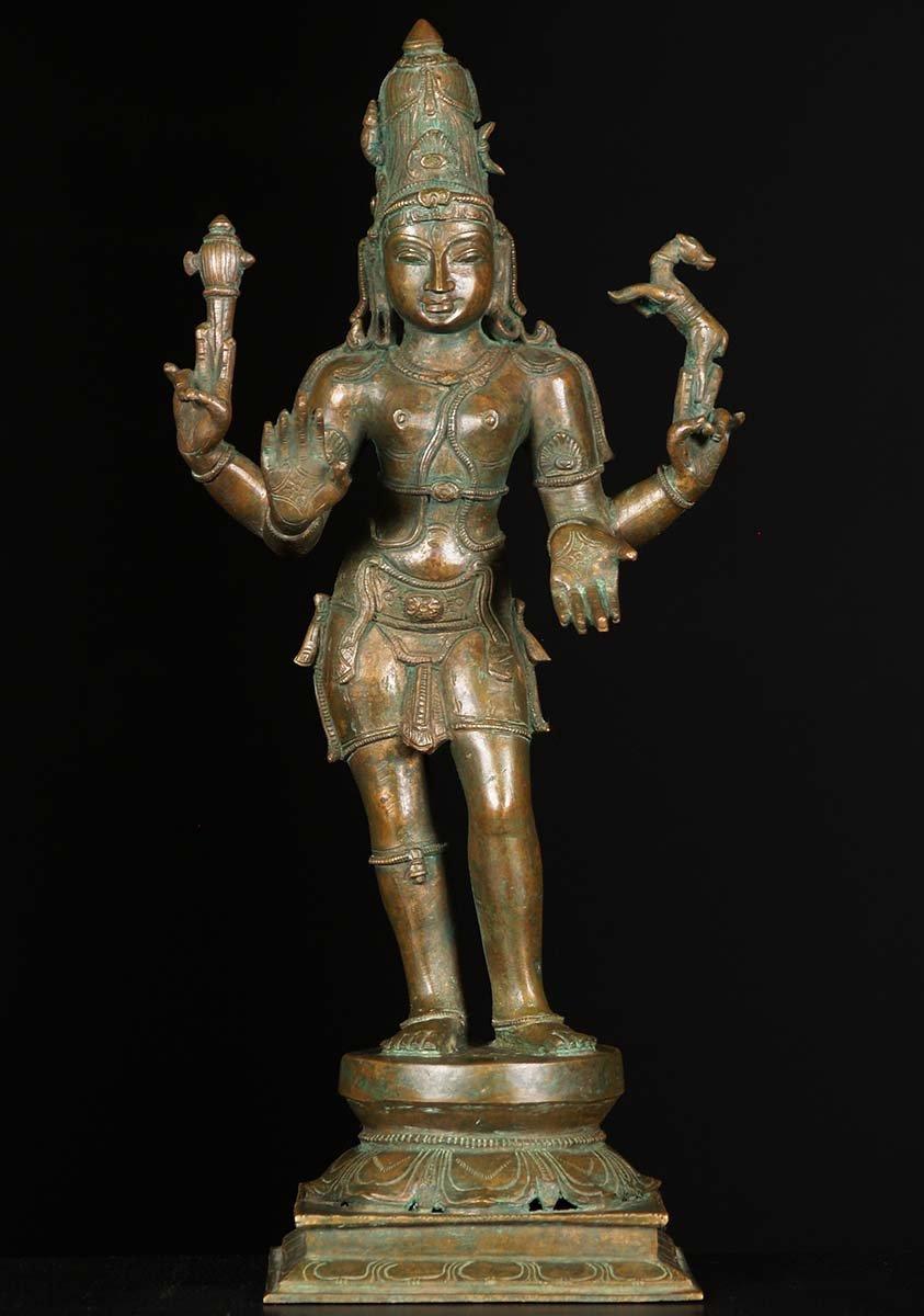 Bronze Shiva Statue In Abhaya Amp Varada Mudras 18 Quot 74b151