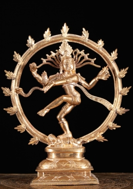 Bronze Statue of Dancing Shiva as Nataraja 10