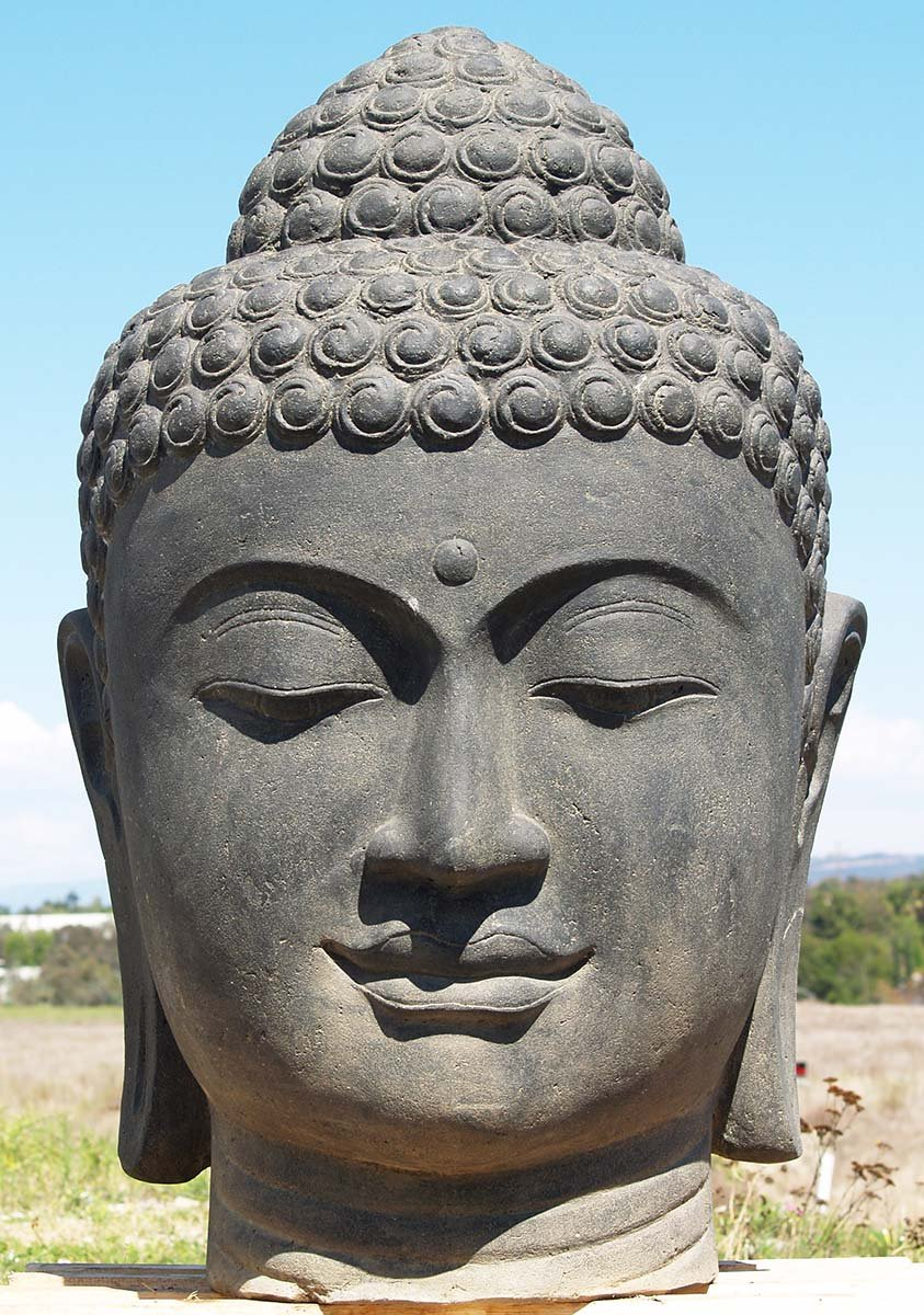Preorder Large Buddha Head Fountain 50 Quot 85ls125 Hindu