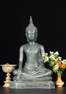 Thai Uttong Style Earth Touching Buddha 15