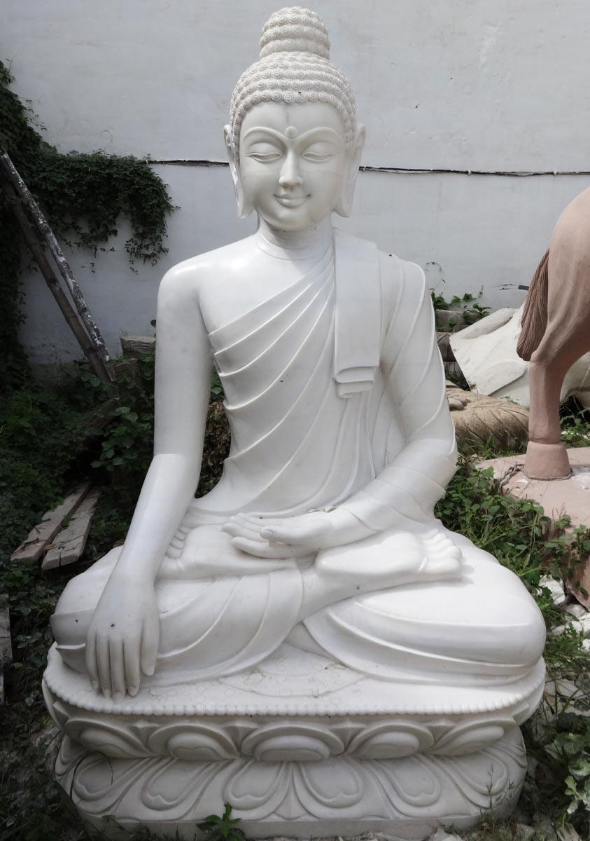 Custom Marble Large Garden Buddha 72 Quot 71wm2 Hindu Gods