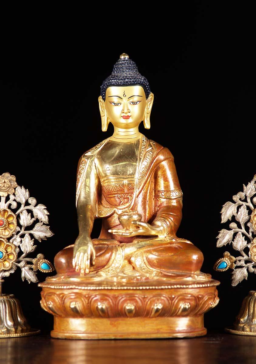 Nepali Earth Touching Shakyamuni Buddha 9 Quot 5n2z Hindu