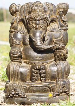 """STATUE der Tag Stein Garten Ganesh Skulptur 17"""""""