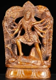 Brass Statue of the Goddess Kali 7