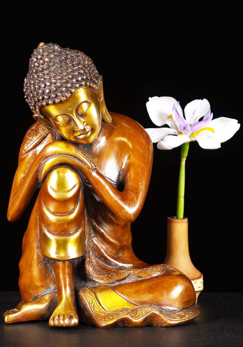 Wood Buddha Statues Wooden Buddha Sculpture Hindu Gods