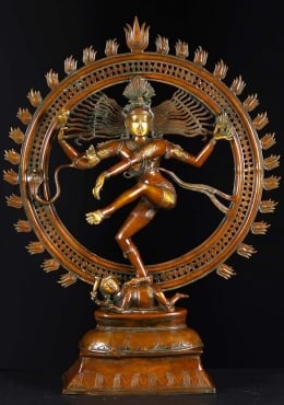 Brass Large Dancing Nataraja Statue 41