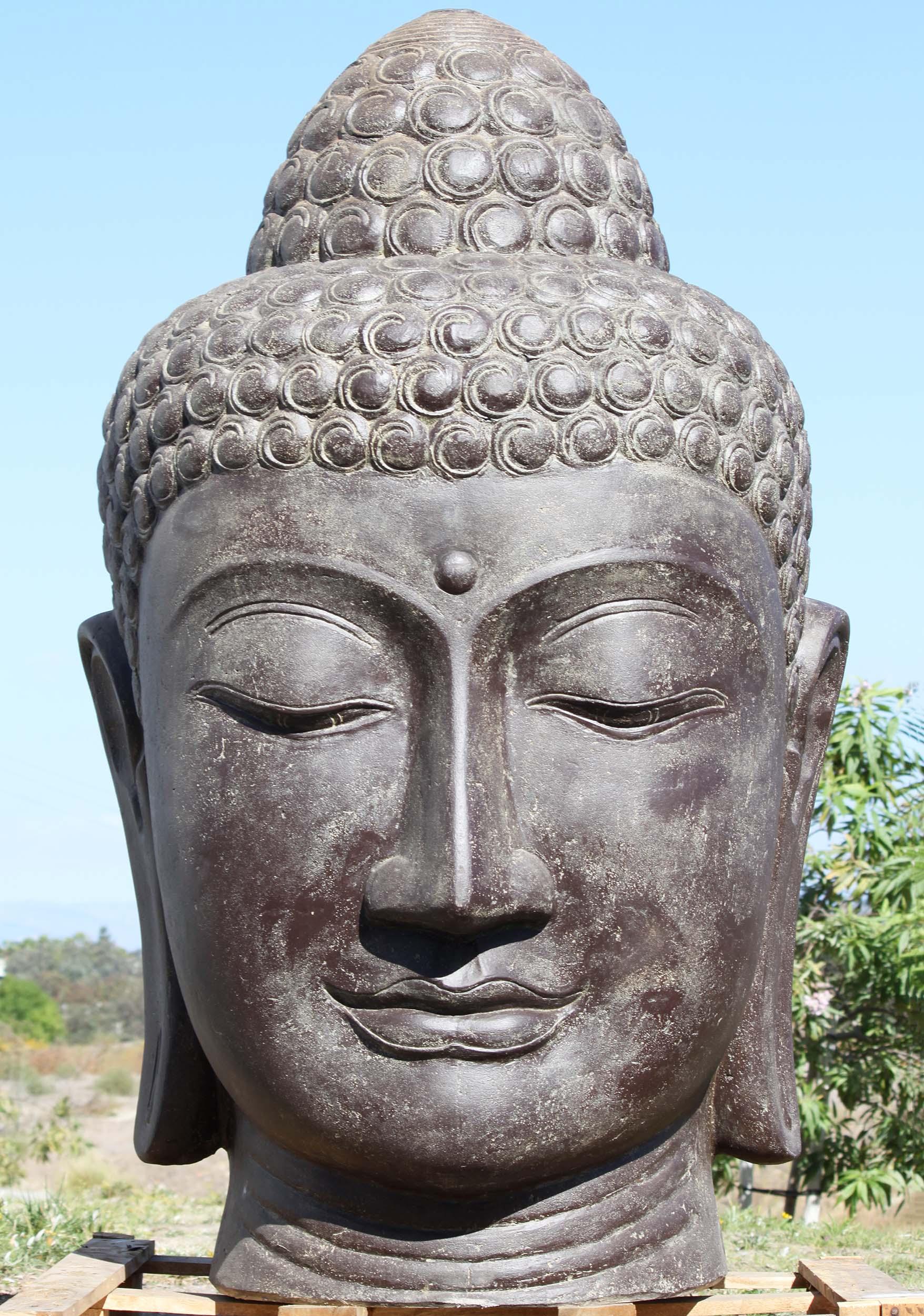 Large Buddha Outdoor Garden Fountain Statue 72 111ls508z Hindu Gods Buddha Statues