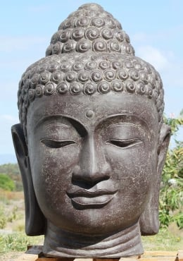 Large Buddha Bust Fountain Head Statue 59