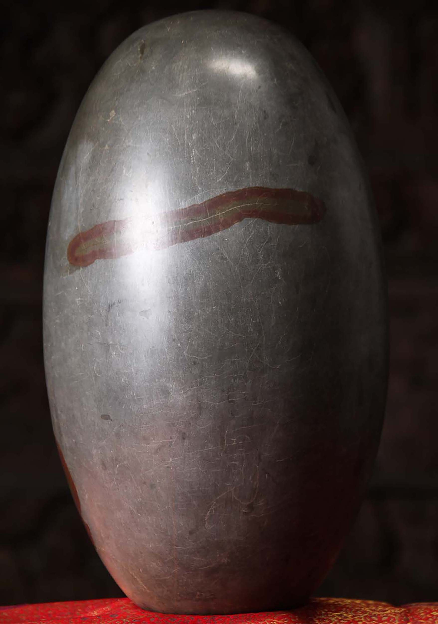 SOLD Large Tantric Shiva Lingam Stone 17 (#1t4): Hindu
