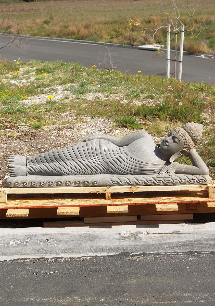 Reclining Buddha Garden Statue Garden Ftempo