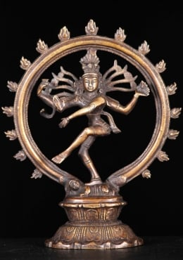 Copper Little Brass Nataraja 8
